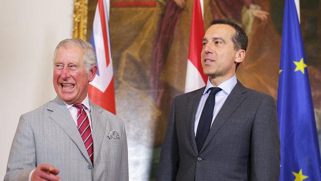 Charles und Camilla in Wien: Das war Tag eins (Bild: APA, GEORG HOCHMUTH)