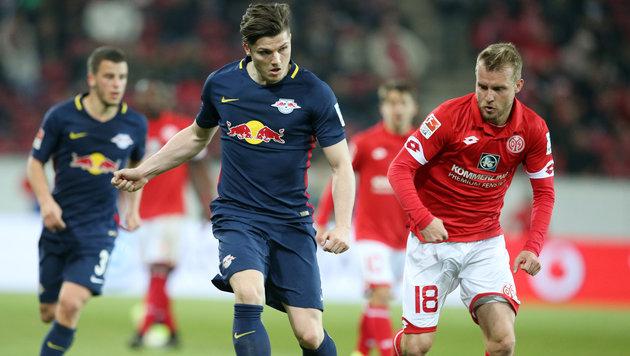 Marcel Sabitzer trifft bei 3:2-Sieg von RB Leipzig (Bild: GEPA)