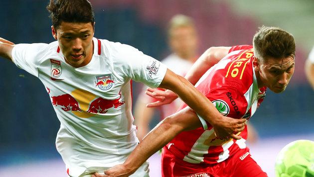 RB Salzburg schrammt gegen KSV an Blamage vorbei! (Bild: GEPA)