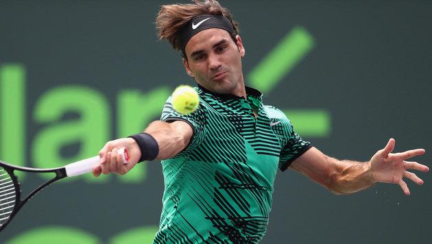 Roger Federer tritt nicht bei den French Open an (Bild: AFP)