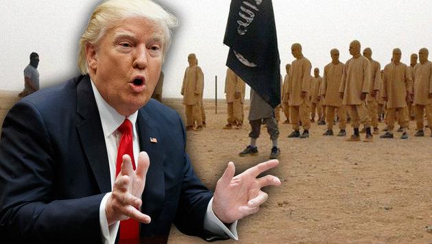 """""""USA werden von einem widerlichen Idioten geführt"""" (Bild: twitter.com, AP (Archivbild))"""