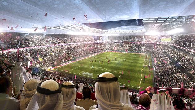 Katar als Terrorsponsor isoliert, für WM gut genug (Bild: AFP)