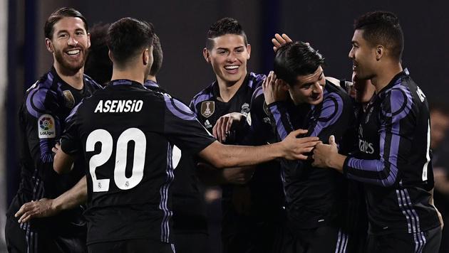 4:2-Sieg! Real Madrid bleibt an der Spitze (Bild: AFP)