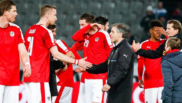 FIFA-Ranking: ÖFB-Team auf Platz 36 zurückgefallen (Bild: APA/EXPA/JOHANN GRODER)