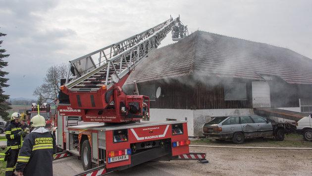Der Bauernhof wurde beim Brand schwer beschädigt. (Bild: Foto Jack Haijes)