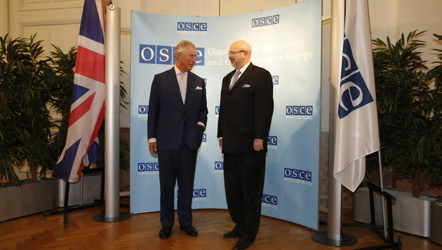Prinz Charles bei der OSZE (Bild: Reinhard Holl)