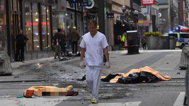 """ÖVP-Klub erlebte Stockholm-Terror """"hautnah"""" (Bild: twitter.com)"""