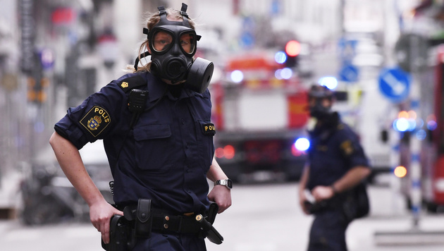 """ÖVP-Klub erlebte Stockholm-Terror """"hautnah"""" (Bild: AFP)"""