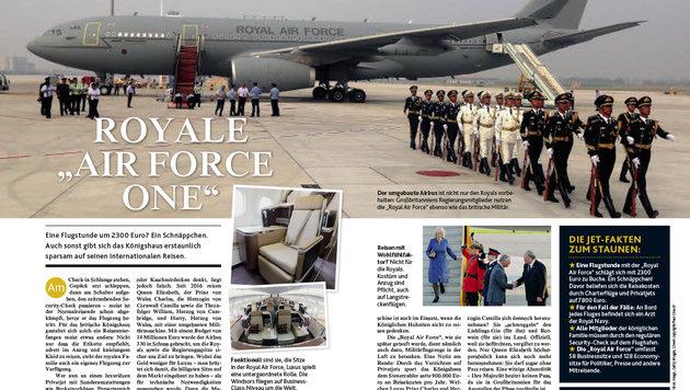 """Neues """"Krone""""-Magazin: Alles über die Royals! (Bild: Kronen Zeitung)"""