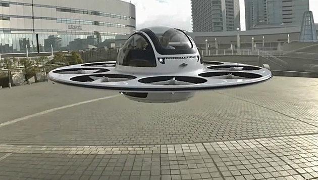 diese passagier drohne sieht aus wie ein ufo idee aus italien digital. Black Bedroom Furniture Sets. Home Design Ideas