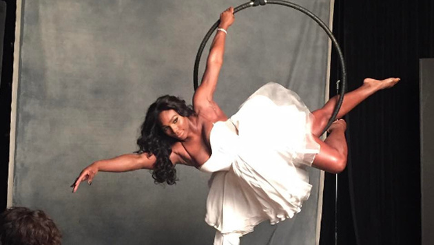 Serena Williams macht bei diesem Fotoshooting eine gute Figur! (Bild: instagram.com/Serena Williams)