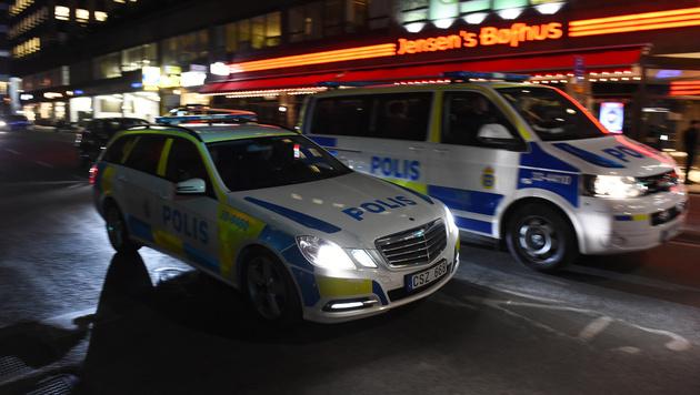 Lkw als Waffe: Diesmal traf der Terror Stockholm (Bild: AFP)