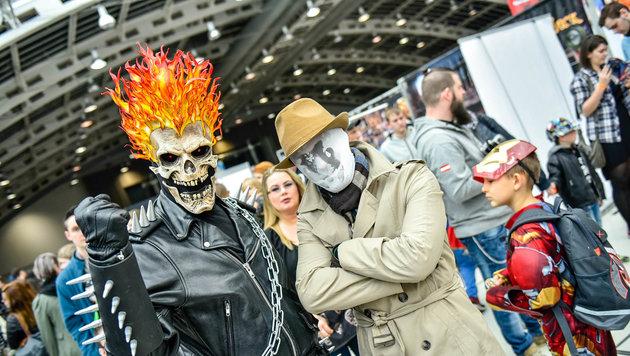 Bunter Comic-Spaß in Linz (Bild: Markus Wenzel)