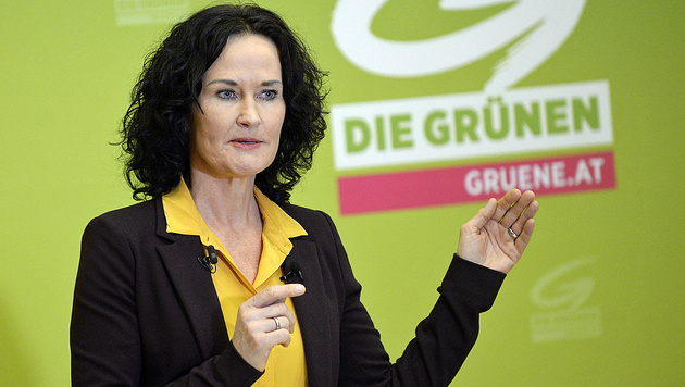 Grünen-Chefin Eva Glawischnig (Bild: APA/Robert Jäger)