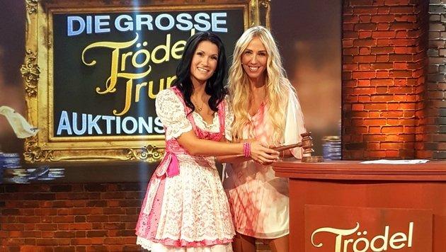 Die Linzerin Antonia und Loona (r.) sind am Montag (ab 20.15 Uhr) in der RTL2-Show. (Bild: Globe4Music)