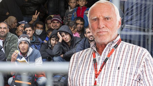 Mateschitz-Abrechnung mit Österreichs Asylpolitik (Bild: APA/Erwin Scheriau)