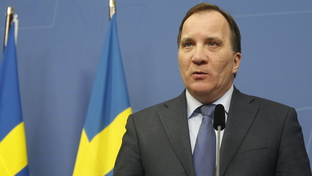 Schwedens Regierungschef Stefan Löfven (Bild: AP)