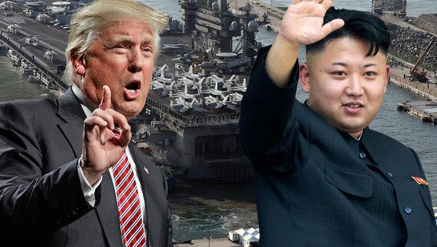 """Nordkorea """"zu jeder Art von Krieg mit USA bereit"""" (Bild: AP)"""
