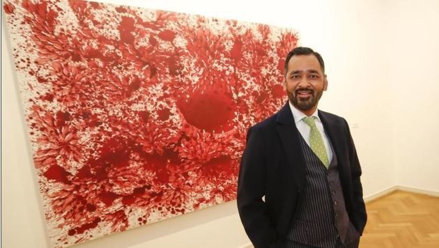 Ausstellung von Imran Qureshi: â01Eand that is how we loved this too - this land...â01C (Bild: Markus Tschepp)