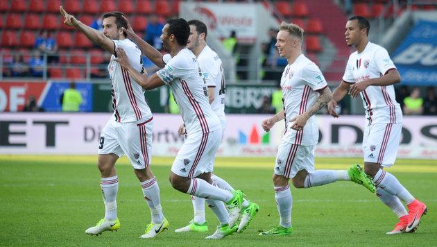 """""""Ösi"""" Suttner schießt Ingolstadt zum 3:2-Sieg (Bild: Armin Weigel / dpa / picturedesk.com)"""