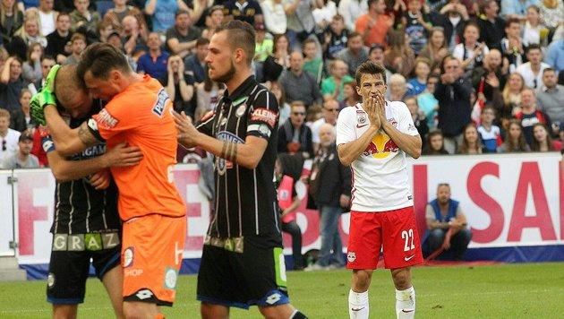Titel praktisch fix! Salzburg gehen die Gegner aus (Bild: APA/KRUGFOTO)
