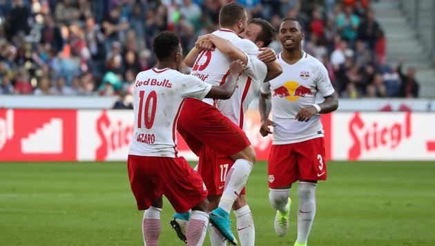 Titel praktisch fix! Salzburg gehen die Gegner aus (Bild: GEPA)
