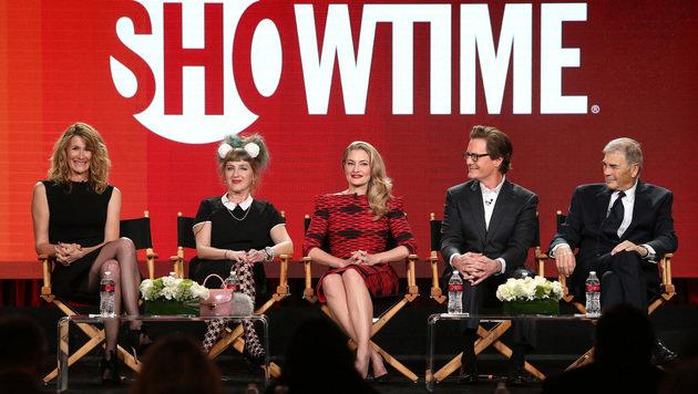 Laura Dern, Kimmy Robertson, Madchen Amick, Kyle MacLachlan und Robert Forster (Bild: AFP)
