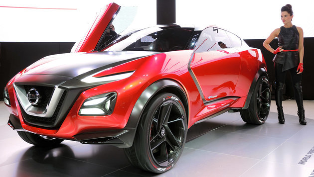 Nissan wird auf der IAA 2017 nicht ausstellen. Das Gripz Concept wurde 2015 präsentiert. (Bild: Stephan Schätzl)