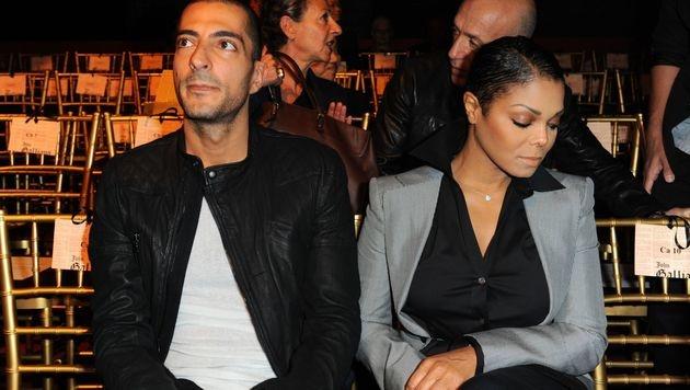 Janet Jackson und ihr Ehemann Wissam Al Mana (Bild: Kerlakian/face to face)