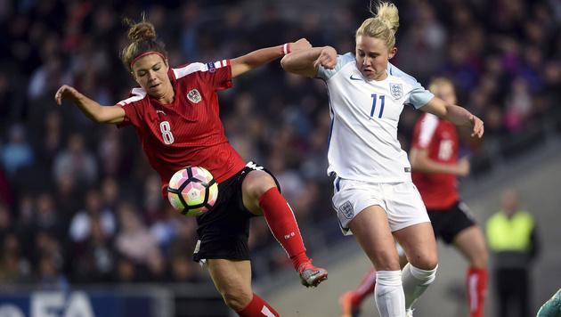 ÖFB-Damen verlieren Testspiel-Kracher in England (Bild: AP)
