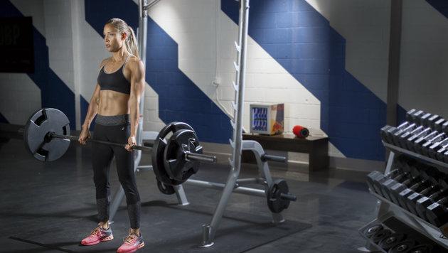 US-Leichtathletik-Star Lolo Jones gewährt Einblicke in ihren Trainingsalltag. (Bild: Red Bull Concntepool)