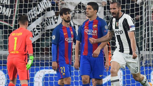 0:3! Jetzt braucht Barcelona wieder ein Wunder (Bild: AFP)