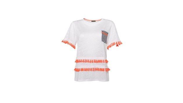T-Shirt mit Fransen (Bild: Peek & Cloppenburg)