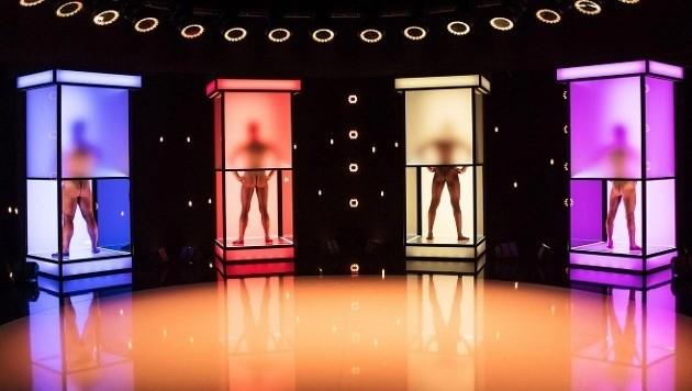 Verrückte Fleischbeschau in nackter Datingshow (Bild: RTL II)