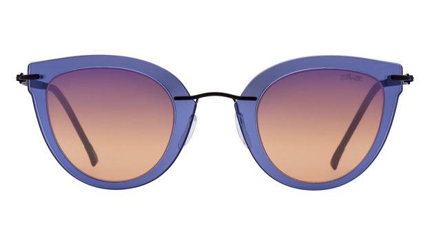 Bunte Sonnenbrille mit gefärbten Gläsern (Bild: Silhouette)
