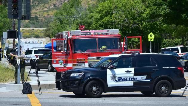 Kalifornien: Drei Tote bei Schüssen in Schule (Bild: AFP)