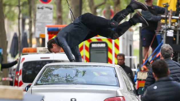 """Auch im 6. Teil der """"Mission: Impossible""""-Reihe macht Tom Cruise seine Stunts selbst. (Bild: Viennareport)"""