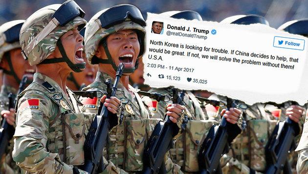 Nordkorea Angriff