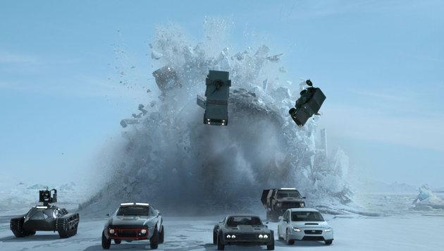 """Fast & Furious 8"": Die Bleifuß-Family ist zurück! (Bild: UPI)"