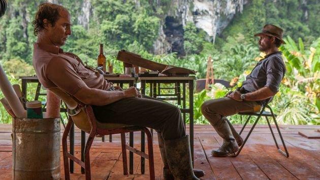 """""""Gold"""": Matthew McConaughey mit Glatze und Wampe (Bild: Studiocanal)"""
