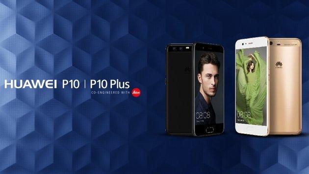 Mit dem neuen Huawei P10 das Fotostudio in der Hosentasche. (Bild: Huawei)