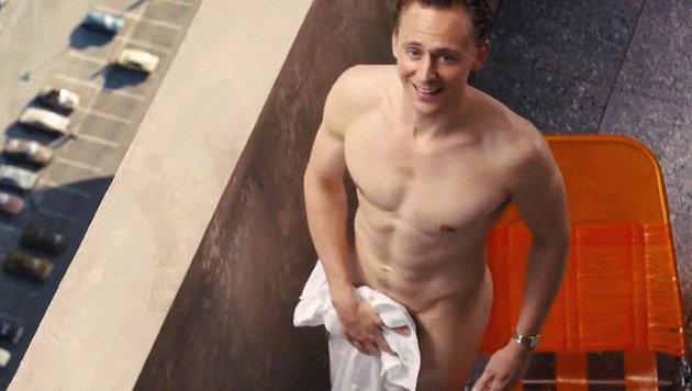 Tom Hiddleston fühlt sich nackt pudelwohl (Bild: Viennareport)