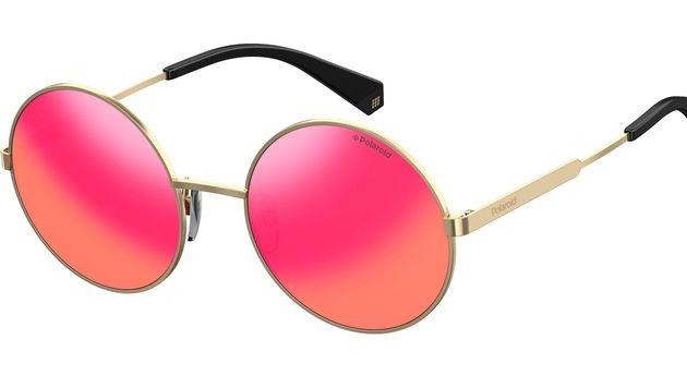 Sonnenbrille mit pinken Gläsern (Bild: Polaroid)