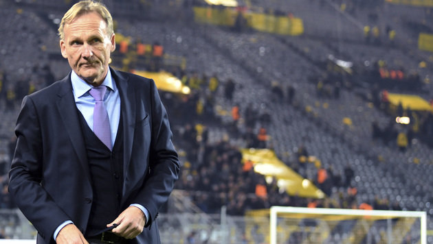 Dortmunds Klubboss Hans-Joachim Watzke (Bild: dpa)