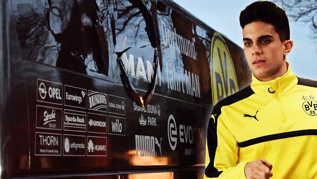 """Dortmund: Angriff auf Teambus """"Rache für Syrien"""" (Bild: AFP)"""