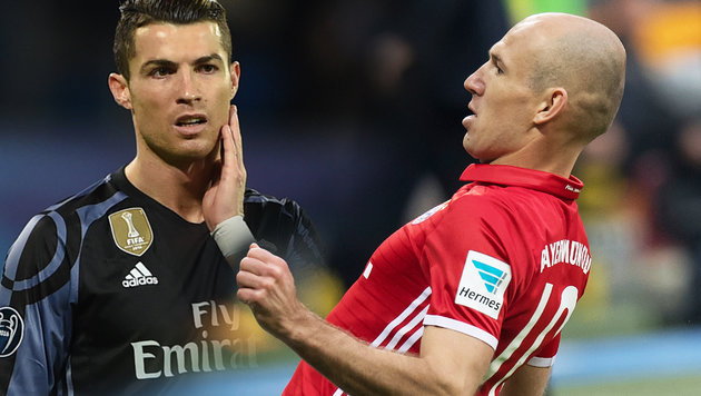 Psychospiele? Real darf nicht in Weiß spielen (Bild: AP, AFP)