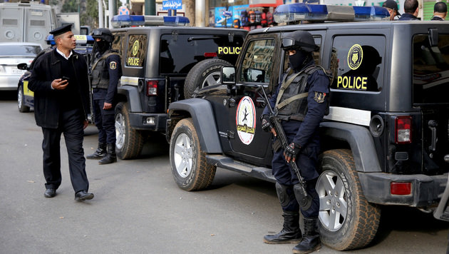 IS greift Kloster in Ägypten an: Polizist tot (Bild: AFP)