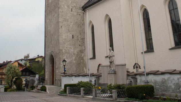 Pfarrkirche Hof: Hier schlug der Dieb zu. (Bild: www.neumayr.cc)