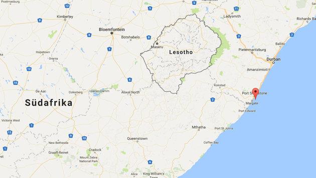 Während eines Tauchgangs in Protea Banks kam es zum Unglück. (Bild: Screenshot Google Maps)