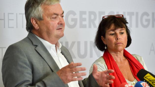 Johann Kalliauer bei der Präsentation von Birgit Gerstorfer (Bild: © Harald Dostal / 2016)